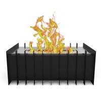 PRO 12 In Ventless Bio Ethanol Fireplace Grate Burner ...