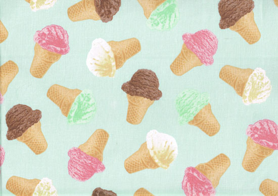 Iphone Product Red Wallpaper Ice Cream Cones On Pastel Mint