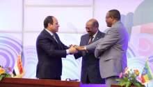 Ethiopia, sudan and Egypt leaders