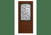 Rustic Wrought Iron Augustine Door | ETO Doors