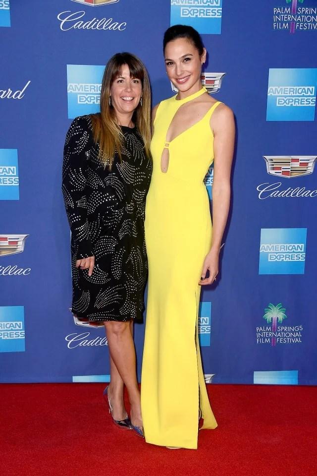 Patty Jenkins and Gal Gadot