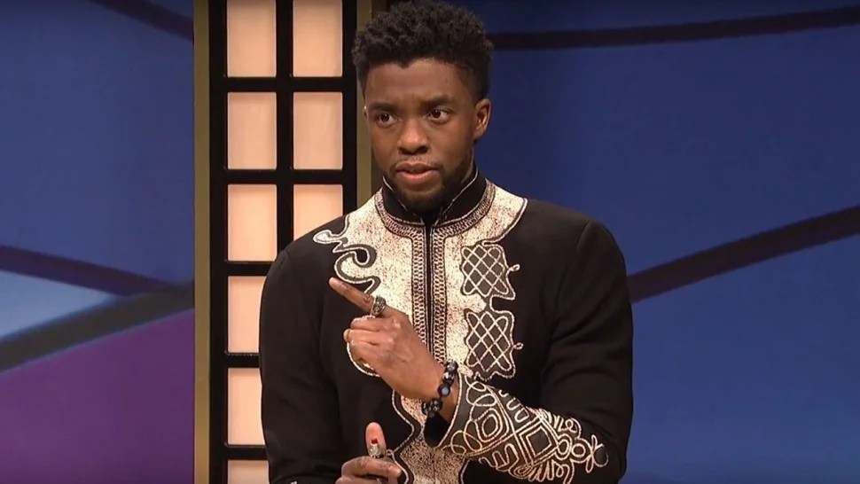 Beautiful Girl Sketch Wallpaper Chadwick Boseman Brings Black Panther Character To