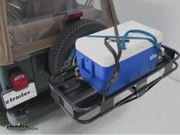 """Surco Spare-Tire-Mounted Cargo Basket - 19"""" Long x 43 ..."""