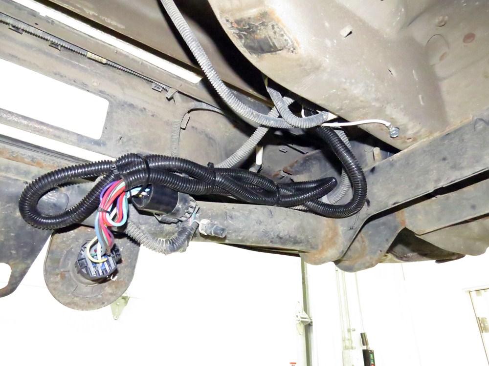 1999 silverado towing wiring harness