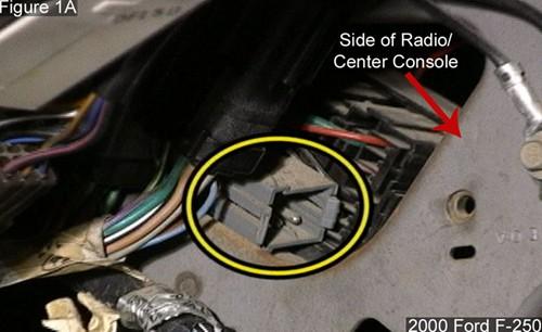 ford trailer brake controller wiring