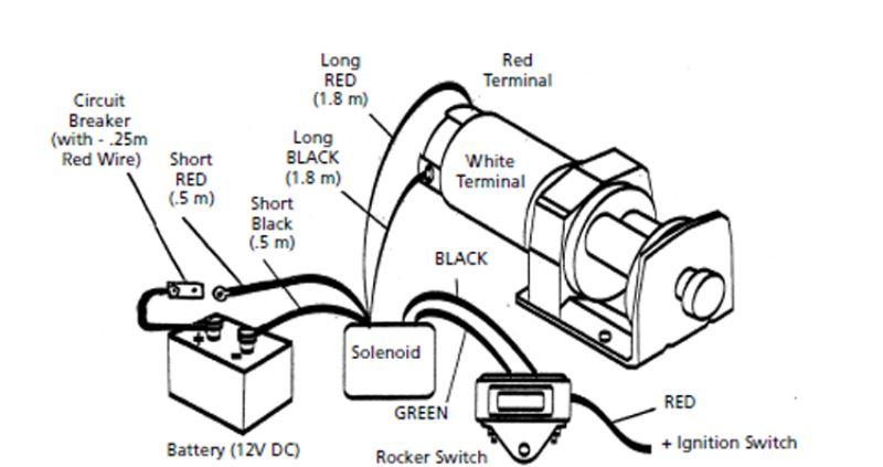 superwinch t1500 rocker switch wiring diagram