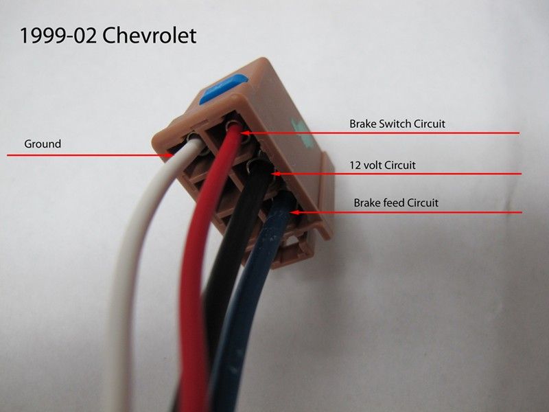 2002 Chevy Trailer Plug Wiring Diagram - Wiring Solutions