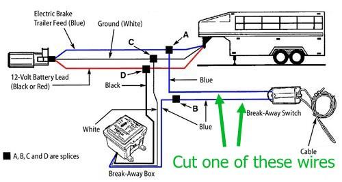 Travel Trailer Brake Wiring Diagram - Wwwcaseistore \u2022