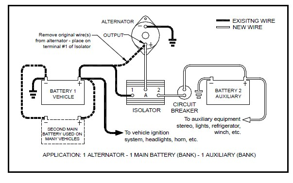 what is a battery isolator used for
