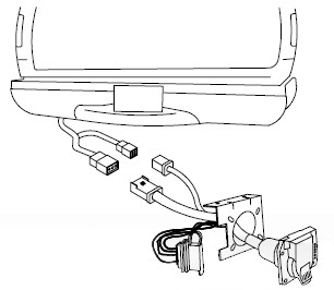 universal tow bar wiring harness