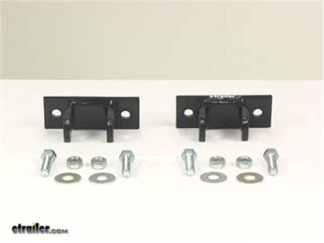 Universal Bumper Brackets For Curt Tow Bar With Adjustable