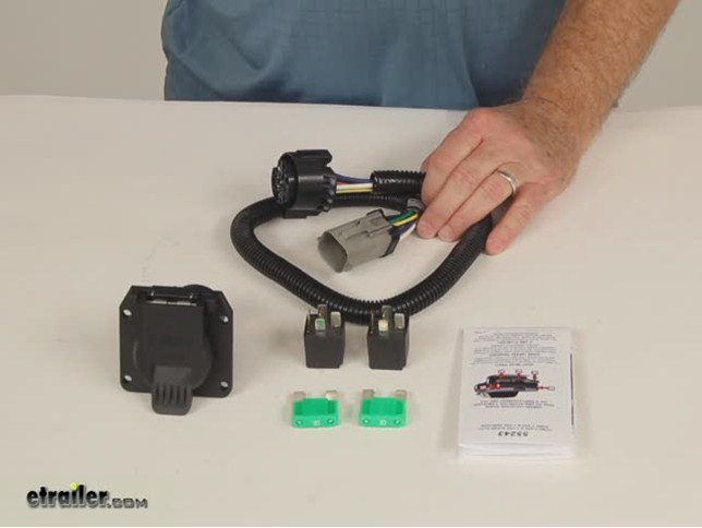 Curt Custom Fit Vehicle Wiring - Trailer Hitch Wiring - C55243