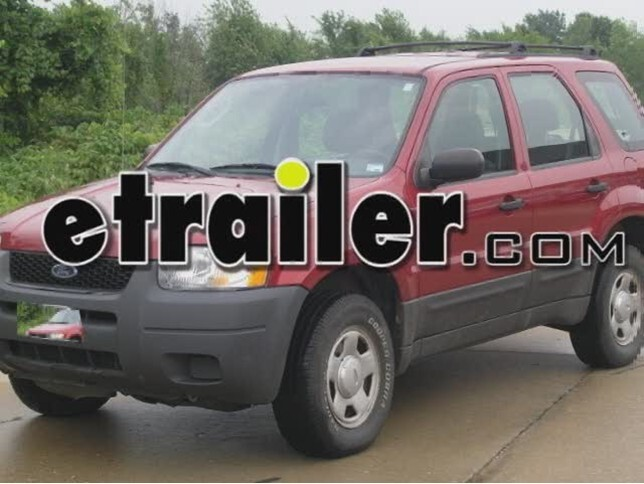 Trailer Wiring Harness Installation - 2003 Ford Escape Video