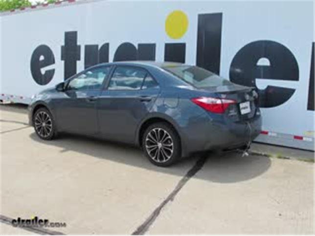 Best 2014 Toyota Corolla Trailer WIring Options Video etrailer