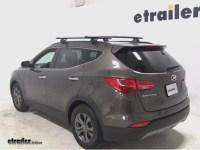 Roof Rack Crossbars Hyundai Santa Fe | Go4CarZ.com