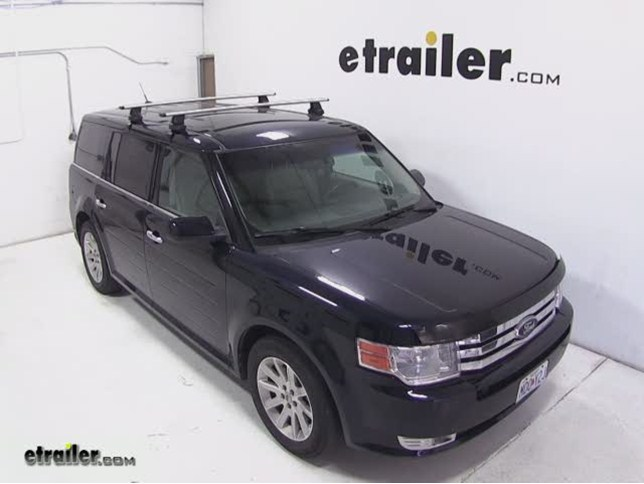 Thule Roof Rack For 2010 Ford Flex Etrailercom
