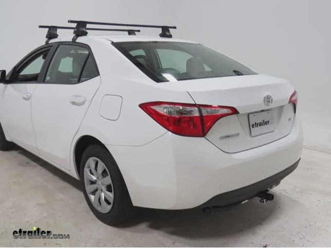 Trailer Hitch Installation - 2014 Toyota Corolla - Draw-Tite Video