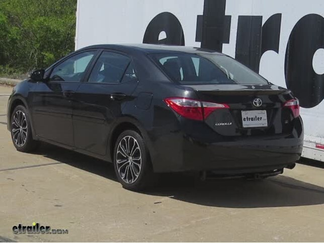 Trailer Hitch Installation - 2015 Toyota Corolla - Curt Video