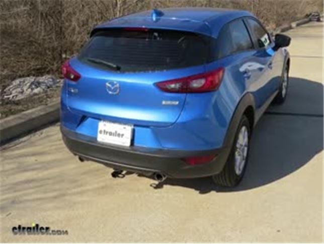 Trailer Hitch Installation - 2016 Mazda CX-3 Video etrailer