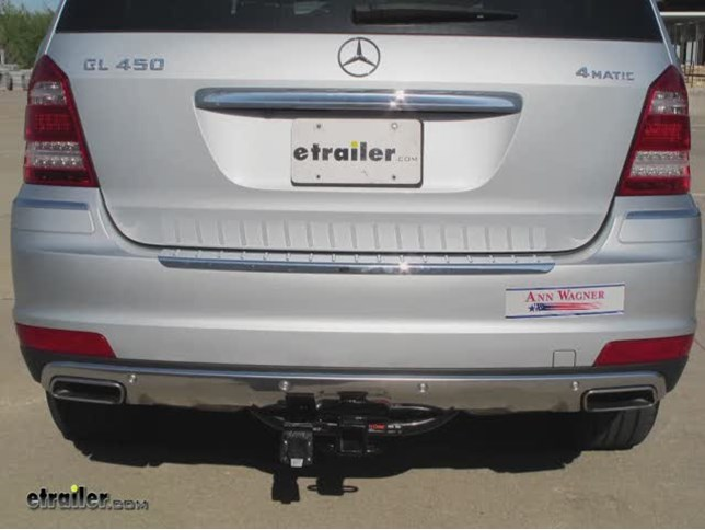 Traile Wiring Harness Installation - 2010 Mercedes-Benz-GL-Class