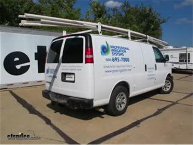 Trailer Wiring Harness Adapter Installation - 2012 Chevrolet Express
