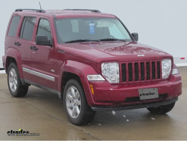 Installation Of The Trailer Wiring Harness On A 2008 Jeep Liberty