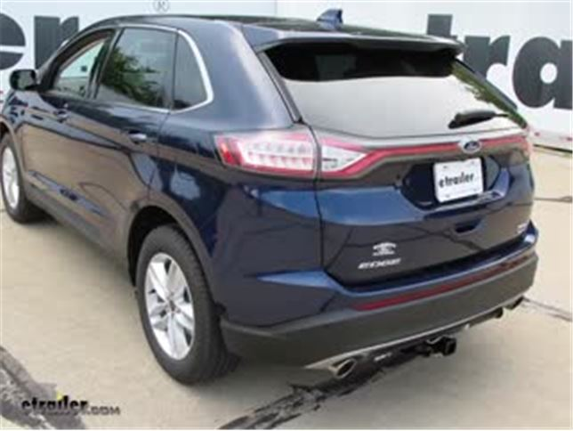 Trailer Wiring Harness Installation - 2016 Ford Edge Video