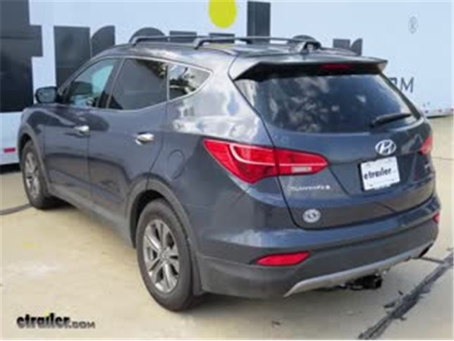 Trailer Wiring Harness Installation - 2016 Hyundai Santa Fe Video