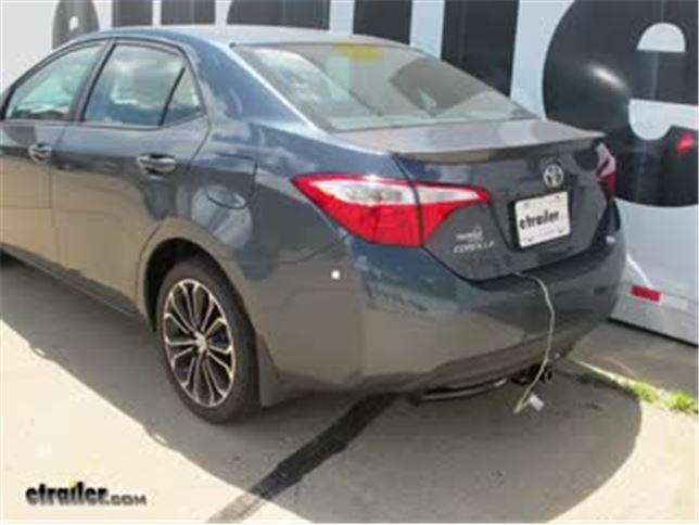 Trailer Wiring Harness Installation - 2016 Toyota Corolla Video