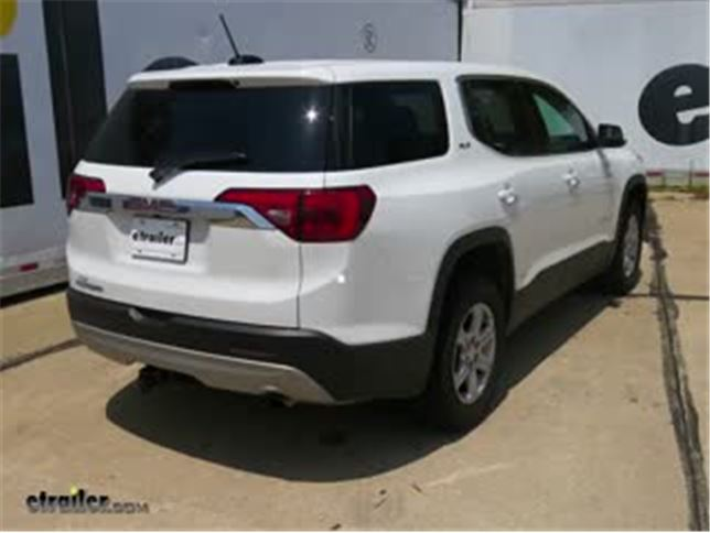 Installation of a Trailer Wiring on a 2017 Gmc Acadia C56326 Video