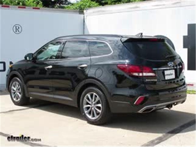 Trailer Wiring Harness Installation - 2017 Hyundai Santa Fe Video