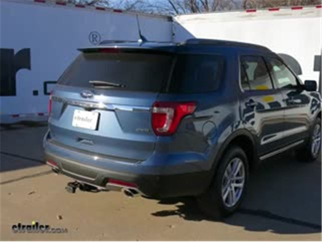 Trailer Wiring Harness Installation - 2018 Ford Explorer Video
