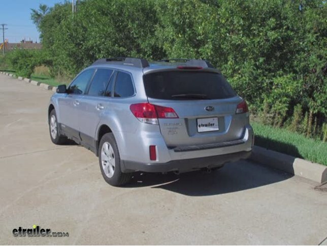Trailer Wiring Harness Installation - 2011 Subaru Outback Wagon