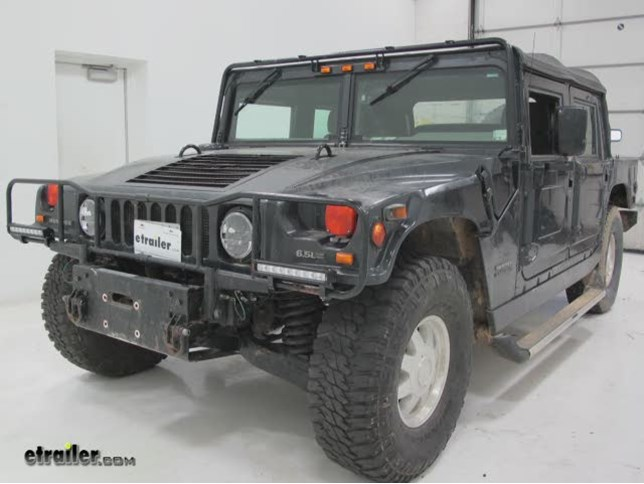 Vision X Wiring Harness for Dual Lights Installation - 1999 Hummer