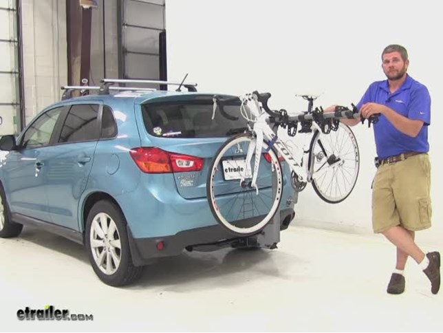 SportRack Hitch Bike Racks Review - 2013 Mitsubishi Outlander Sport