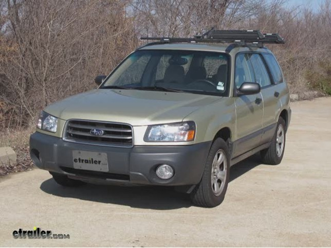2005 Subaru Forester Trailer Wiring Harness - Wiring Solutions