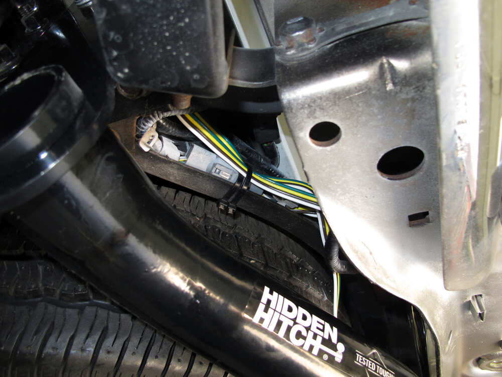 Tow Package Wiring Harness with 4 Pole Trailer Connector Tekonsha