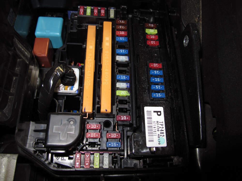 Toyota Highlander Fuse Box Wiring Diagram