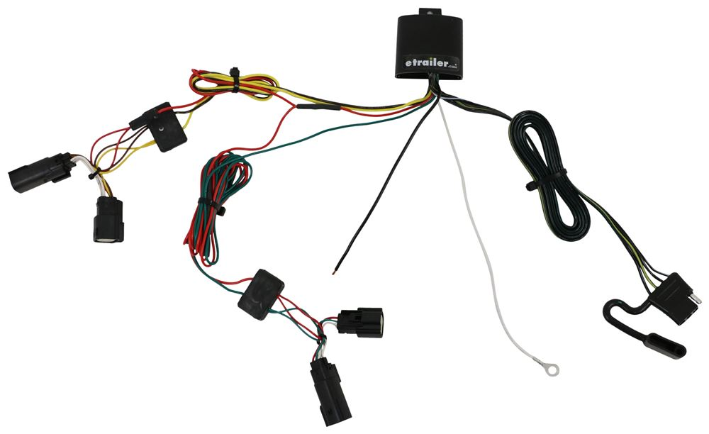 trailer hitch and wiring harness