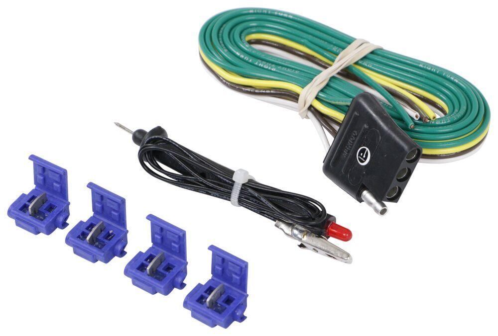 4-Pole Hardwire Kit with Circuit Tester Tekonsha Wiring 18252