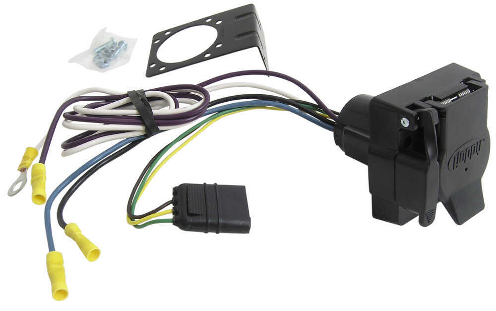 Adapter 4-Pole to 7-Pole and 4-Pole Hopkins Wiring 37185