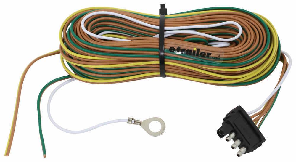 35 Ft 4-Way Trailer Wiring Harness - Wishbone Style - 42\