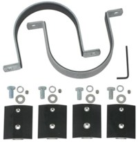 """Pipe Clamps for Rola Roof Racks - 4"""" Diameter Rola ..."""