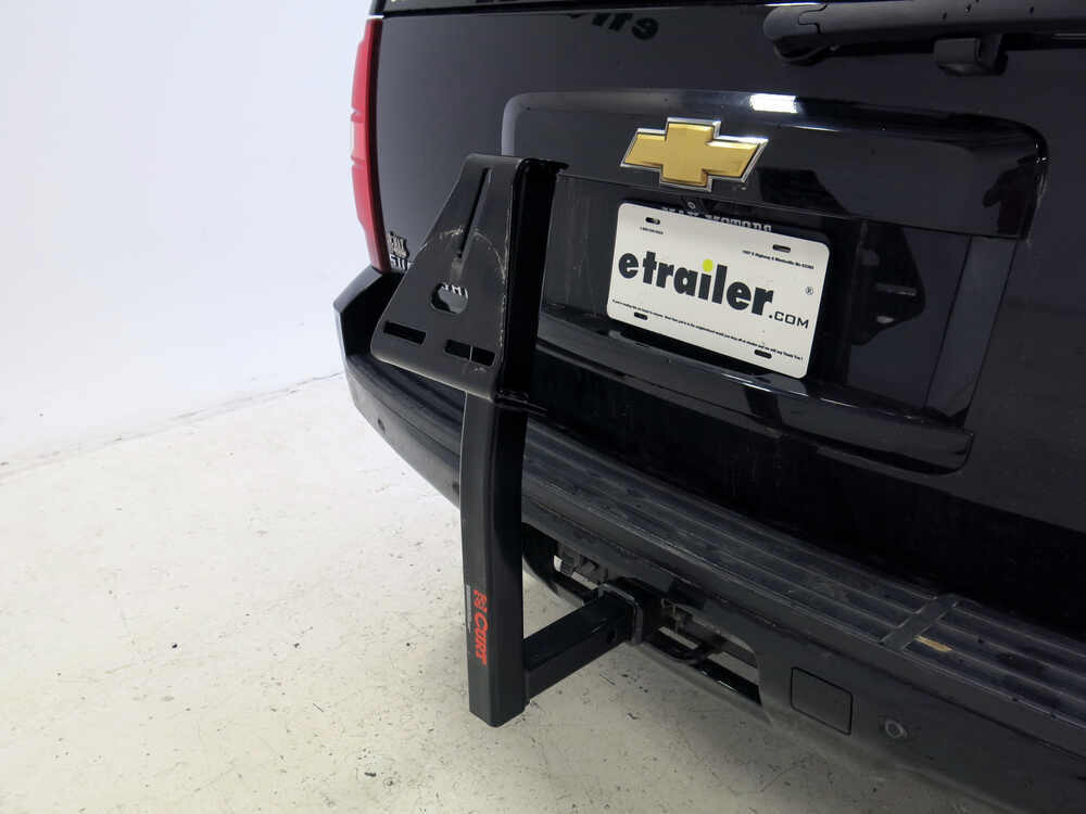 Curt Trailer Hitch Mounted Spare Tire Carrier Curt Spare