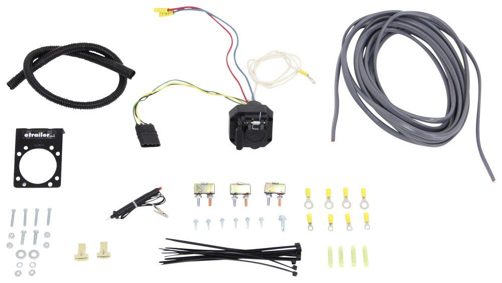 toyota tacoma trailer wiring kit