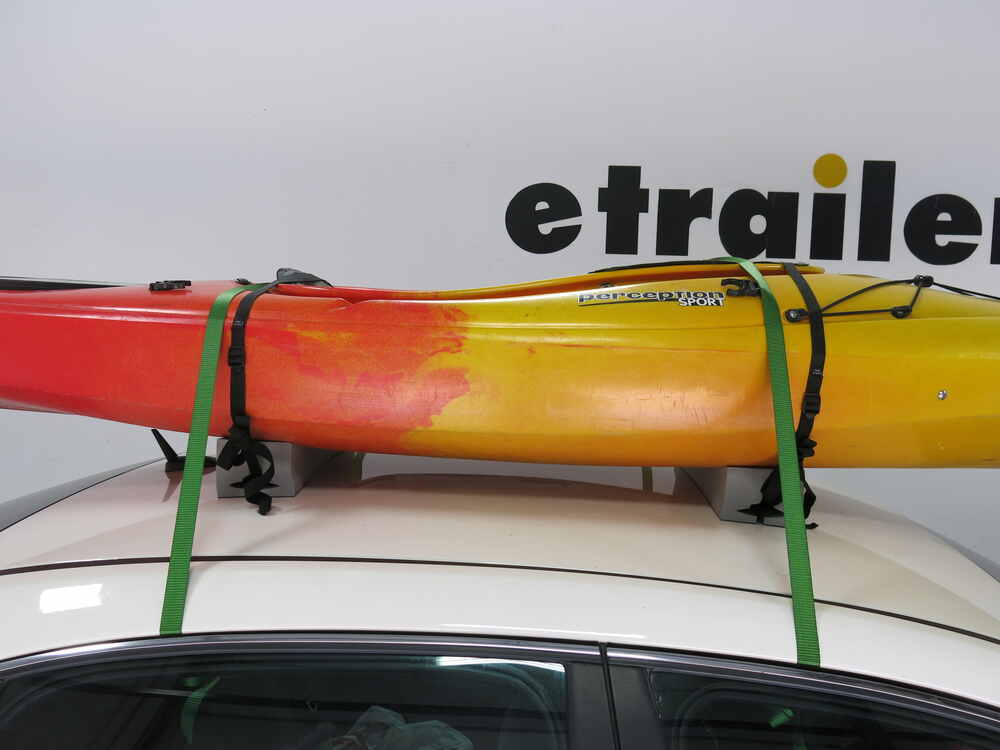 Malone Kayak Carrier With Tie Downs Foam Block Style
