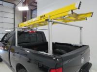 MaxxTow Truck Bed Ladder Rack w/ Load Stops - Aluminum ...