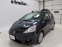 Toyota Prius C Discovery Roof-Mount Bike Carrier - Left Side