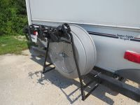 Swagman Around the Spare Deluxe 2 Bike Rack for RV Bumpers ...