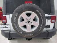 2016 Jeep Wrangler Unlimited Spare Tire Bike Racks - Thule